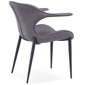 China High Abrasion Resistance 81cm Metal Restaurant Chairs on sale