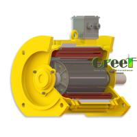 China 1MW-5MW ac generator low rpm, dynamo generator for water turbine, low rpm permanent magnet generator on sale