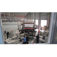 Flexible PVC Floor Tile Production Line Different Type Embossing Designed Fully Automatic