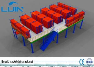 China Multi Layer Storage Mezzanine Floors?, Steel Structure Mezzanine Storage Platform on sale