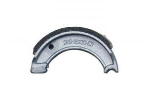 China Less Noise Motorcycle Brake Pad Lining , JOG50 Activa Brake Shoe For Motorcycle on sale