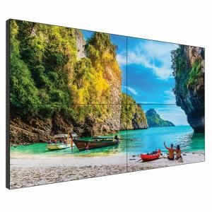 China 55 Inch Seamless Lcd Wall , 0.8mm 2x2 Ultra Narrow Bezel Video Wall on sale