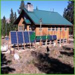система домочадца -Решетки 2.24kw солнечная для ежедневного расхода энергии 8KWH