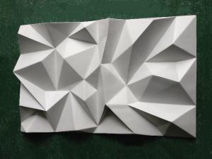 Quality plat décoratif blanc de FRP de décorations faites sur commande de fibre de verre for sale