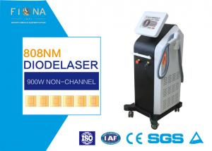 China Non - Channel 810nm Diode Hair Removal Machine , Nd Yag Laser Tatoo Removal Machine on sale