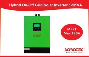 China Single Phase 1kva - 5kva Hybrid Solar Inverter for solar panels , pure sine inverter on sale