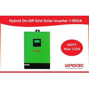 China Single Phase 1kva - 5kva Hybrid Solar Inverter for solar panels , pure sine inverter on sale