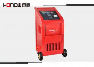 China Automatic AC Refrigerant Recovery Machine Can Be Filled , Vacuum Pumping And Leak Detection on sale