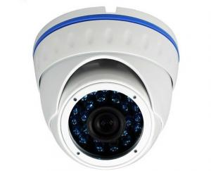 China 420TVL 1/3 IR 25m Vandal Proof CCD Security Camera Dome Wide Angle With Blue LED on sale