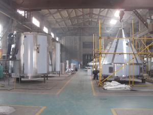 China Push Off Button Control High Speed Spray Dryer Machine For Skim Milk Powder Processing Plant on sale