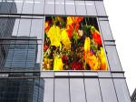 PH8 Outdoor Full Color LED Screen Panel Background 1R1G1B 14-16 Bit Grey Scale