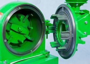 China Mini Green 220V 50Hz Corn Flour Grinding Machine Electric on sale