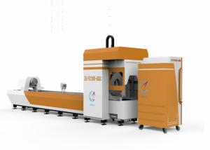 China High Speed Pipe Laser Cutting Machine For Circular Tube Cutting / Advertising Word Cutting on sale