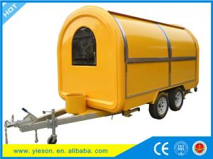 China New model can be customized logo Mobile Ice Cream Food trailers,modern mobile food cart on sale