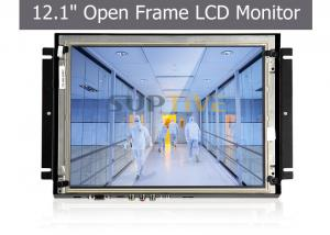 China 800x480 Pixels Open Frame Lcd Monitor Open Frame Touch Display Audio Output on sale