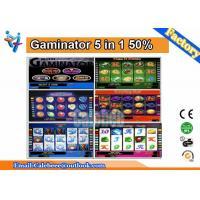 Multi Gambling Board LCD Slot Arcade Game Machine Gaminator 5 In 1 Ver 1