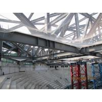 GYM Center Building Steel Frame I Section Square/ Round Pipe Environment Friendly