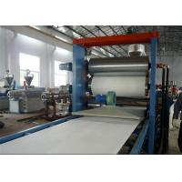 China PVC Plastic Sheet Making Machine , PVC Foam Board / Sheet Production Line on sale
