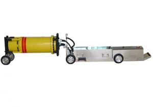 China Electromagnetic Remote Control pipeline crawler x-ray machine on sale