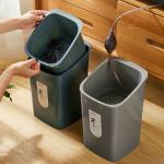 Tea Leaves Bucket Rubbish Plastic Dustbin For Kitchen Waste