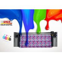 Cmyk Inkjet Textile Printing Machine Low Consumption For Led - Box Fabric
