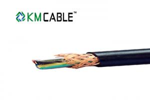 China PUR Jacket Servo Motor Power Cable Insulated Copper Wire Low Voltage on sale