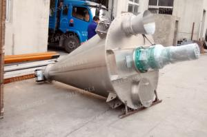 China Low Power 5000L Conical Screw Blender For Cement Mortar Mixing One Year Warranty on sale