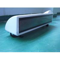 China Cap top advertising led display/Car Auto Dome Roof Cab Magnetic Taxi /Taxi Magnetic Base Roof Top Car Cab LED Sign on sale