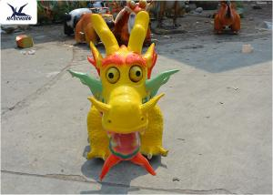 China Cartoon Traditional Dragon Toy Car Kiddie Rides Game Center Motorized Scooters on sale