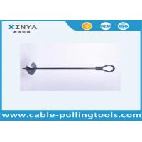 Manufacture Earth Screw Anchor Earth Anchor Drill 1710mm with 300mm Diameter Disk
