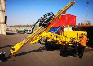 China JC358A Down Hole Rock Drilling Rig Crawler Hydraulic Drill Rig For Power Station on sale