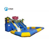 Inflatable Commercial Blow Up Water Slides Easy Install For Amusement Park