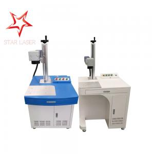 China Stainless Steel Fiber Laser Engraver , USB Flash Drive Fiber Marking Machine on sale