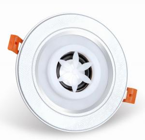 China Music Playing Bluetooth Recessed Light Speakers  , Ceiling Led Downlight With Bluetooth Speaker on sale