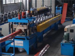 China Press Step Metal Roof Forming Machine , Arch Sheet Roll Forming Machine 0.4-0.6mm on sale