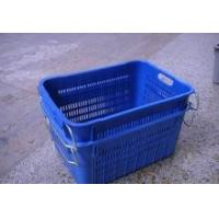 China Nest & Stack Plastic vented crates&All Rounder Crate&vegetables vented containers and box on sale