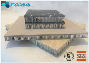 China Travertine Stone Honeycomb Composite Panels , Honeycomb Core Panels Customized Size on sale