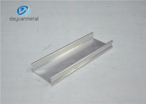China Silver Anodized Aluminium Profile Extruded Aluminum Extrusions Temper T3 - T8 on sale
