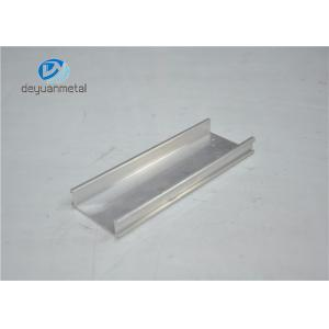 China Silver Anodized Aluminium Profile Extruded Aluminum Extrusions Temper T3 - T8 on sale