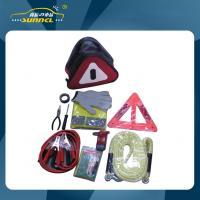 CE Roadside Emergency Kit , Auto Emergency Tool Repair Kit Safety