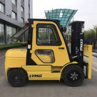 new product 3 ton portable forklift with Isuzu engine   side shifter