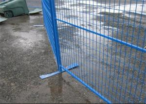 China Security removable construction Canada temporary fencing galvanized or pvc coated on sale