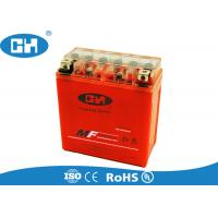China Custom High Performance Motorcycle Battery , Small Gel Cell Motorcycle Battery on sale