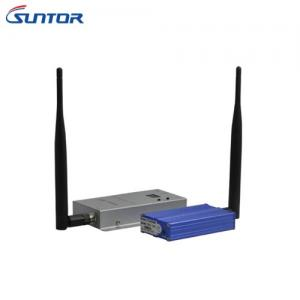 China Long Distance 3000m Wireless Av Transceiver 1.2GHz Miniature High Power 3W on sale