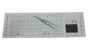 China Multimedia RF 2.4Ghz wireless medical washable keyboard with touch pad, antibacterial on sale