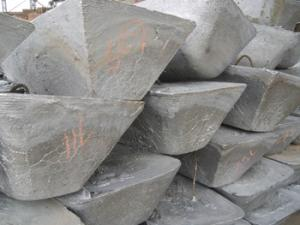China Remelted Lead Ingots 97% on sale