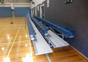 China Portable Aluminum Grandstands , Outdoor Aluminum Bleachers For Events / Matches on sale