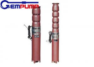 China QJ multi-stage stainless steel submersible pump for factories / railways on sale