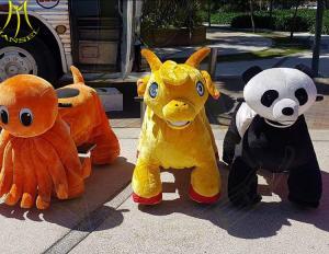 Hansel amusement park games stuffed indoor zoo animals kiddie ride