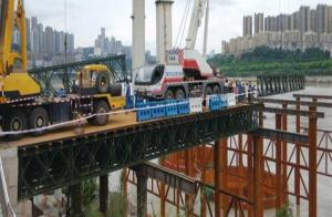 China Military Use Floating Pontoon Bridge Bailey System Modular Steel Bridges supplier